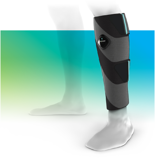 Leg compression device